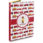 Firetrucks Hardbound Journal (Personalized)