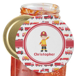 Firetrucks Jar Opener (Personalized)