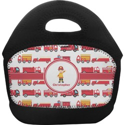 Firetrucks Toddler Lunch Tote (Personalized)