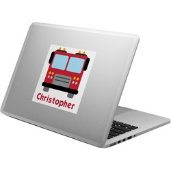Firetrucks Laptop Decal (Personalized)