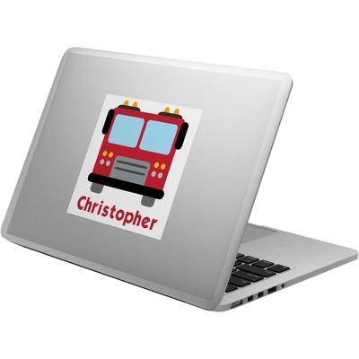 Firetrucks Laptop Decal (Personalized)