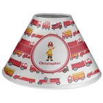 Firetrucks Coolie Lamp Shade (Personalized)