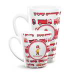 Firetrucks Latte Mug (Personalized)