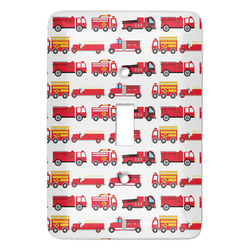 Firetrucks Light Switch Covers - Multiple Toggle Options Available (Personalized)