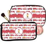 Firetrucks Makeup / Cosmetic Bag (Personalized)