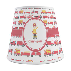 Firetrucks Empire Lamp Shade (Personalized)