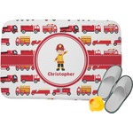 Firetrucks Memory Foam Bath Mat (Personalized)