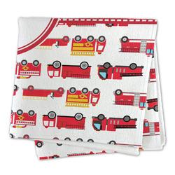 Firetrucks Microfiber Dish Rag (Personalized)