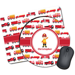 Firetrucks Mouse Pads (Personalized)