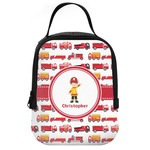 Firetrucks Neoprene Lunch Tote (Personalized)