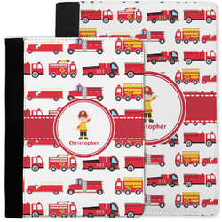 Firetrucks Notebook Padfolio w/ Name or Text