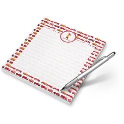 Firetrucks Notepad (Personalized)
