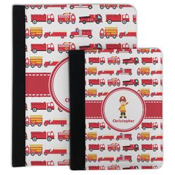 Firetrucks Padfolio Clipboard (Personalized)
