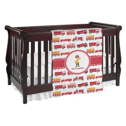Firetrucks Baby Blanket (Personalized)