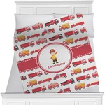 Firetrucks Blanket (Personalized)