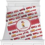 Firetrucks Minky Blanket (Personalized)