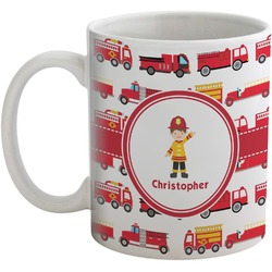 Firetrucks Coffee Mug (Personalized)