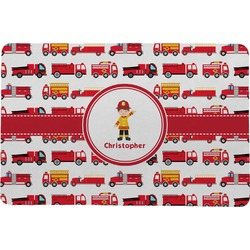 Firetrucks Comfort Mat (Personalized)