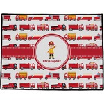 Firetrucks Door Mat (Personalized)