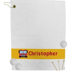 Firetrucks Golf Towel (Personalized)