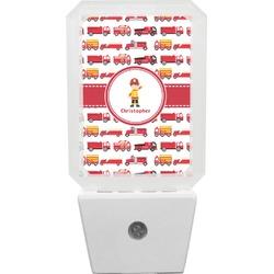 Firetrucks Night Light (Personalized)