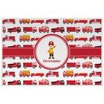 Firetrucks Placemat (Laminated) (Personalized)