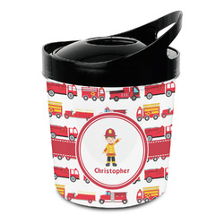 Firetrucks Plastic Ice Bucket (Personalized)
