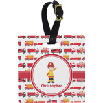 Firetrucks Luggage Tags (Personalized)