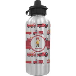 Firetrucks Water Bottle (Personalized)