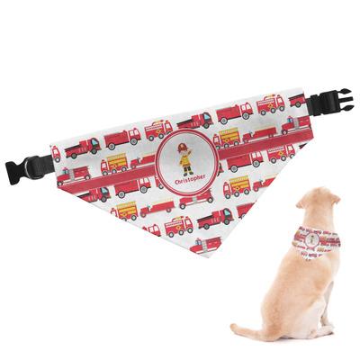 Firetrucks Dog Bandana (Personalized)