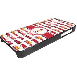 Firetrucks Plastic iPhone 5/5S Phone Case (Personalized)