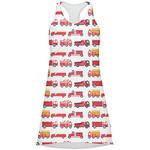 Firetrucks Racerback Dress (Personalized)