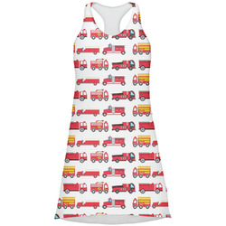 Firetrucks Racerback Dress (Personalized)