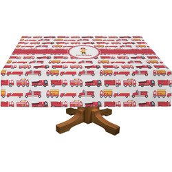 Firetrucks Tablecloth (Personalized)