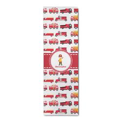 Firetrucks Runner Rug - 3.66'x8' (Personalized)