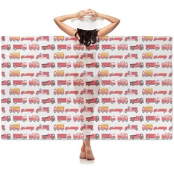 Firetrucks Sheer Sarong (Personalized)