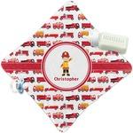 Firetrucks Security Blanket (Personalized)