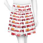 Firetrucks Skater Skirt (Personalized)