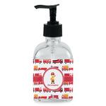 Firetrucks Soap/Lotion Dispenser (Glass) (Personalized)
