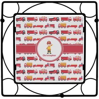 Firetrucks Trivet (Personalized)