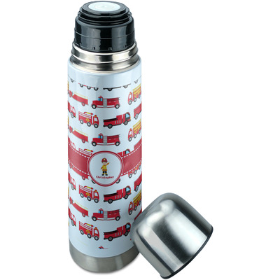 fire truck thermos