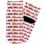 Firetrucks Toddler Ankle Socks (Personalized)