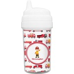 Firetrucks Sippy Cup (Personalized)