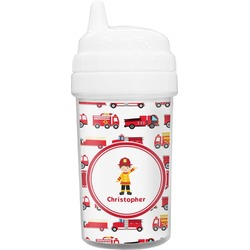 Firetrucks Toddler Sippy Cup (Personalized)