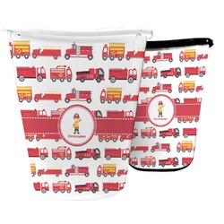 Firetrucks Waste Basket (Personalized)