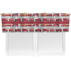Firetrucks Valance (Personalized)