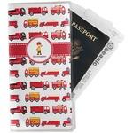 Firetrucks Travel Document Holder