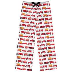 Firetrucks Womens Pajama Pants (Personalized)