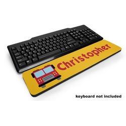 Firetrucks Keyboard Wrist Rest (Personalized)