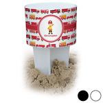 Firetrucks Beach Spiker Drink Holder (Personalized)